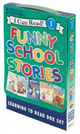 Omslag - Funny School Stories: Learning to Read Box Set