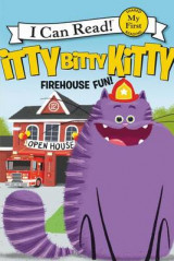 Omslag - Itty Bitty Kitty: Firehouse Fun