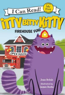 Itty Bitty Kitty: Firehouse Fun av Joan Holub (Innbundet)