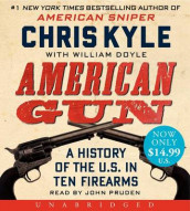 American Gun Unabridged Low Price CD av Chris Kyle (Lydbok-CD)