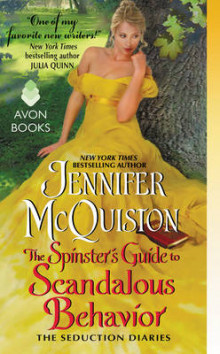 The Spinster's Guide to Scandalous Behavior av Jennifer McQuiston (Heftet)
