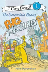 Omslag - The Berenstain Bears' Big Machines