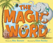 The Magic Word av Mac Barnett (Innbundet)