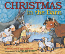 Christmas in the Barn av Margaret Wise Brown (Innbundet)