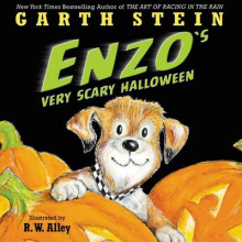 Enzo's Very Scary Halloween av Garth Stein (Innbundet)
