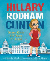 Omslag - Hillary Rodham Clinton: Some Girls Are Born to Lead