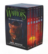 Omslag - Warriors: Omen of the Stars Box Set: Volumes 1-6: Volumes 1-6
