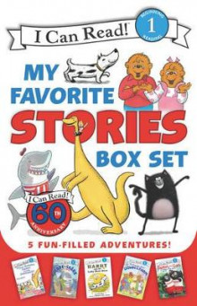 I Can Read My Favorite Stories Box Set av Various, Stan & Jan Berenstain, Ree Drummond, Bruce Hale, Syd Hoff og Rob Scotton (Heftet)
