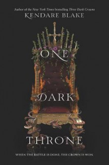 One Dark Throne av Kendare Blake (Innbundet)