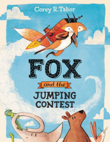 Fox and the Jumping Contest av Corey R. Tabor (Innbundet)
