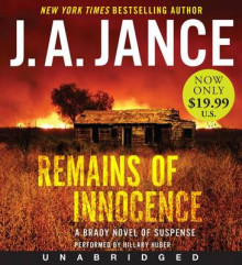 Remains of Innocence Unabridged Low Price CD: A Brady Novel of Suspense av J. A. Jance (Lydbok-CD)