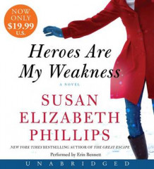 Heroes Are My Weakness Low Price CD av Susan Elizabeth Phillips (Lydbok-CD)