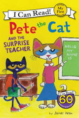 Omslag - Pete the Cat and the Surprise Teacher