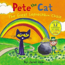 Pete the Cat: The Great Leprechaun Chase av James Dean (Innbundet)
