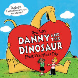 Omslag - Danny and the Dinosaur: First Valentine's Day