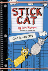Omslag - Stick Cat: Cats in the City