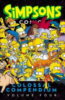 Simpsons Comics Colossal Compendium, Volume 4 av Matt Groening (Heftet)