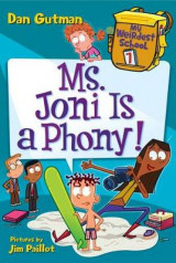 Omslag - My Weirdest School #7: Ms. Joni Is a Phony!