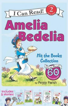 Amelia Bedelia I Can Read Box Set #1: Amelia Bedelia Hit the Books Collection av Peggy Parish (Heftet)