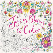 Joyous Blooms to Color av Eleri Fowler (Heftet)