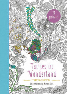 Fairies In Wonderland 20 Postcards: An Interactive Coloring Adventure for All Ages av Marcos Chin (Heftet)