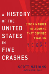 Omslag - A History Of The United States In Five Crashes: Stock Market Meltdowns That Defined a Nation