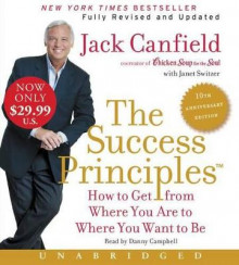 The Success Principles av Jack Canfield og Janet Switzer (Lydbok-CD)