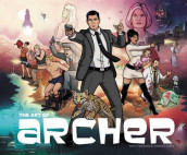 The art of Archer av Sterling Archer og Neal Holman (Innbundet)