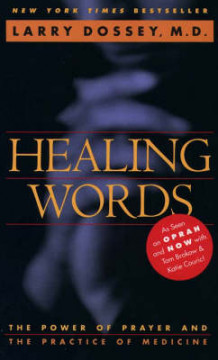 Healing Words av Larry Dossey (Heftet)