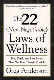 22 Non Negotiable Laws of Wellness av Greg Anderson (Heftet)