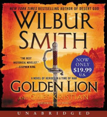 Golden Lion av Wilbur Smith og Giles Kristian (Lydbok-CD)