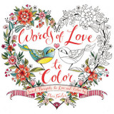 Omslag - Words of Love to Color