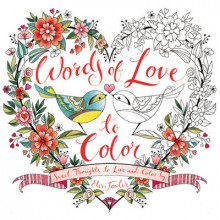Words of Love to Color av Eleri Fowler (Heftet)