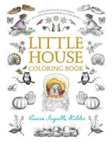 Omslag - Little House Coloring Book