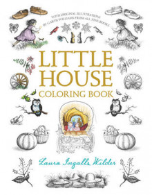 Little House Coloring Book av Laura Ingalls Wilder (Heftet)