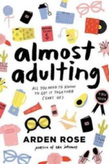 Omslag - Almost adulting