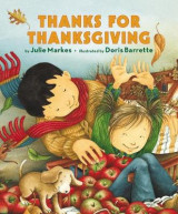 Omslag - Thanks for Thanksgiving Board Book