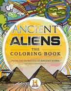 Omslag - Ancient Aliens - the Coloring Book