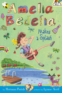 Amelia Bedelia Chapter Book #11: Amelia Bedelia Makes a Splash av Herman Parish (Heftet)