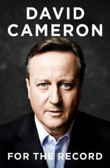 For the Record av David Cameron (Innbundet)