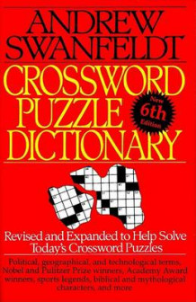 Crossword Puzzle Dictionary av Andrew Swanfeldt (Heftet)