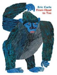 From Head to Toe Padded Board Book av Eric Carle (Pappbok)