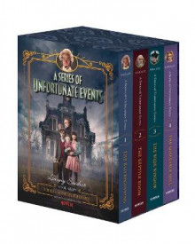 A Series Of Unfortunate Events #1-4 Netflix Tie-in Box Set av Lemony Snicket (Innbundet)