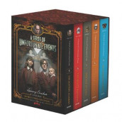 A Series of Unfortunate Events #5-9 Netflix Tie-In Box Set av Lemony Snicket (Innbundet)
