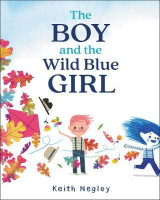 Omslag - The Boy and the Wild Blue Girl