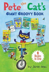 Pete the Cat's Giant Groovy Book av James Dean (Innbundet)