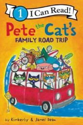 Pete The Cat's Family Road Trip av James Dean (Innbundet)
