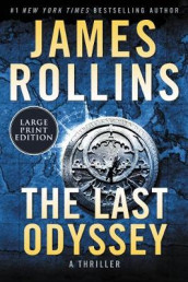 The Last Odyssey [Large Print] av James Rollins (Heftet)