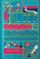 Alice's Adventures in Wonderland (Illustrated with Interactive Elements) av Lewis Carroll (Innbundet)