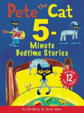 Pete the Cat: 5-Minute Bedtime Stories av James Dean og Kimberly Dean (Innbundet)